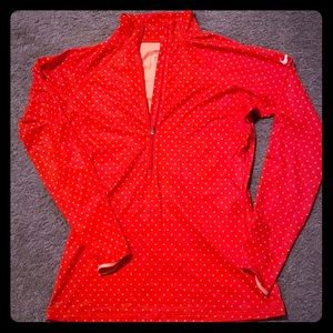 Nike Pro 3/4 zip athletic top